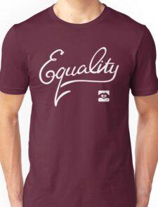 Equality - White Unisex T-Shirt