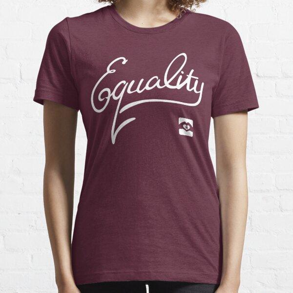 Equality - White Essential T-Shirt
