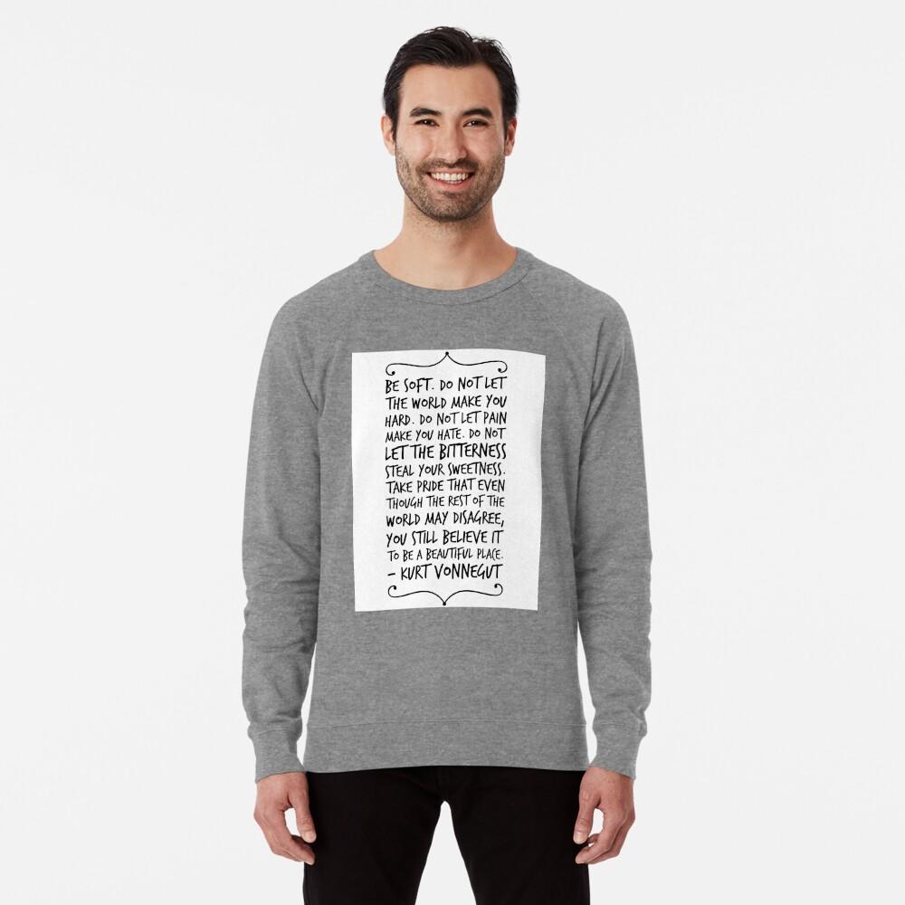 sei sanft Leichter Pullover
