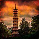 Kew Gardens Pagoda by Chris Lord