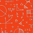 Math formulae (red) by funmaths