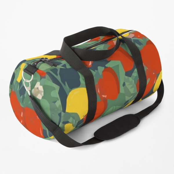 Tropical fruit seamless pattern Duffle Bag