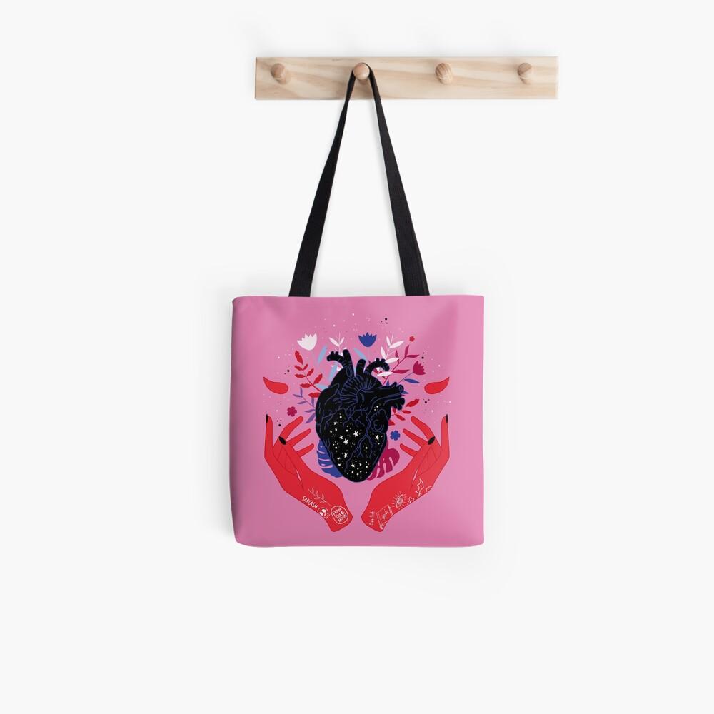 Devilish Heart Tote Bag