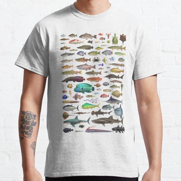 ALL FISH N STUFF Critterpedia Classic T-Shirt