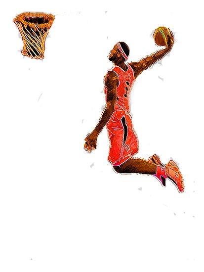 Basketball Dunk by Turri