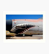 F-105 Thunder Chief Art Print