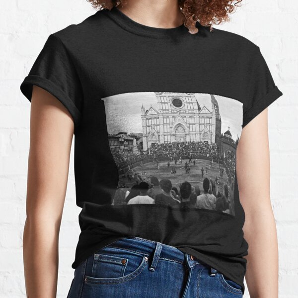 Calcio Storico Fiorentino - Santa Croce, Florence Classic T-Shirt