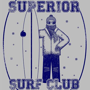 Superior Surf Club by uncmfrtbleyeti