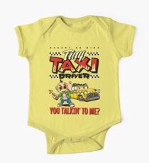 Tiny Taxi Driver One Piece - Short Sleeve