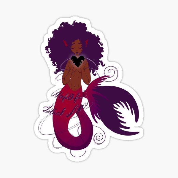 Merfolk for Black Lives Sticker
