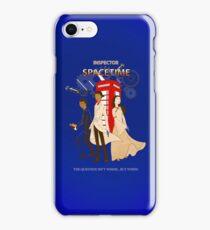Inspector Spacetime II iPhone Case/Skin