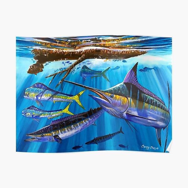 Marlin hunter Poster