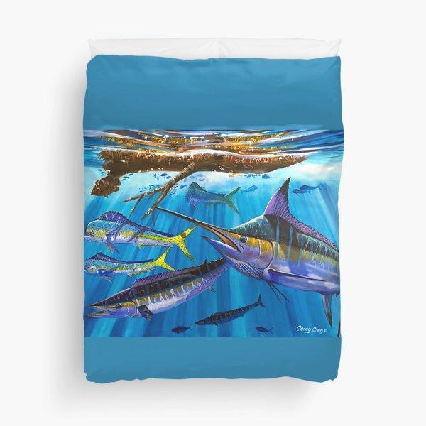 Marlin hunter Duvet Cover