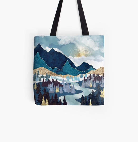 Valley Sunrise All Over Print Tote Bag