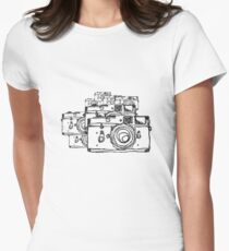 Leica M3 to the Eighth Women's Fitted T-Shirt