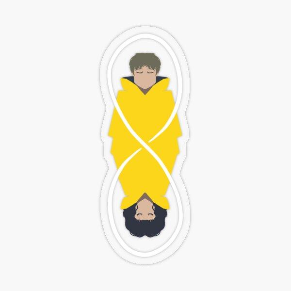 Dark - cycle infini - Jonas Sticker transparent