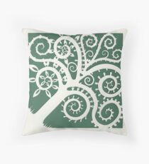 This is what a tree looks like where I come from :D Throw Pillow