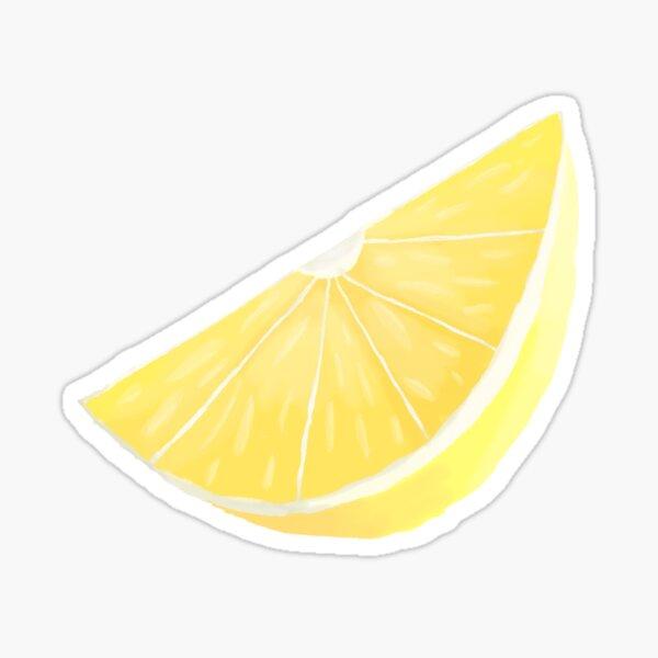 Highlighter Lemon Sticker