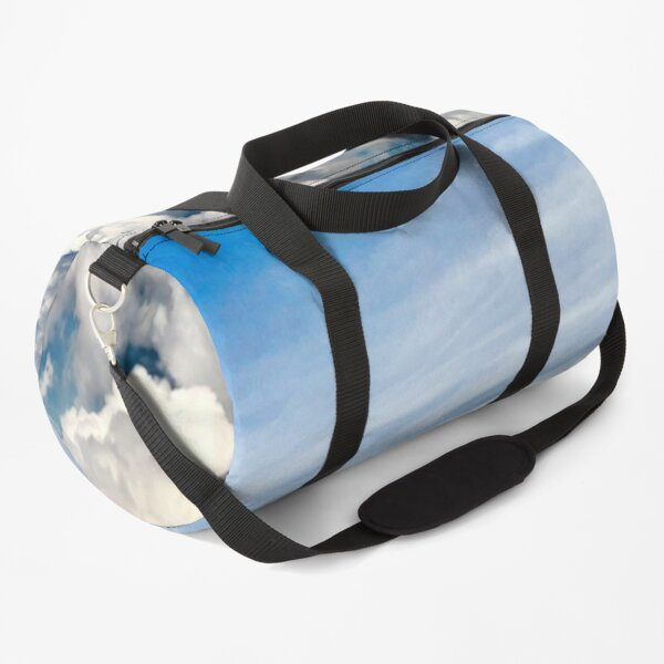 Clouds On A Plane Duffle Bag