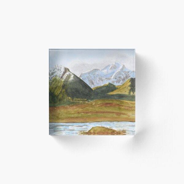 Glen Coe by John Rees Acrylic Block