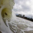 Cyclone At Burleigh by Matt Ryan
