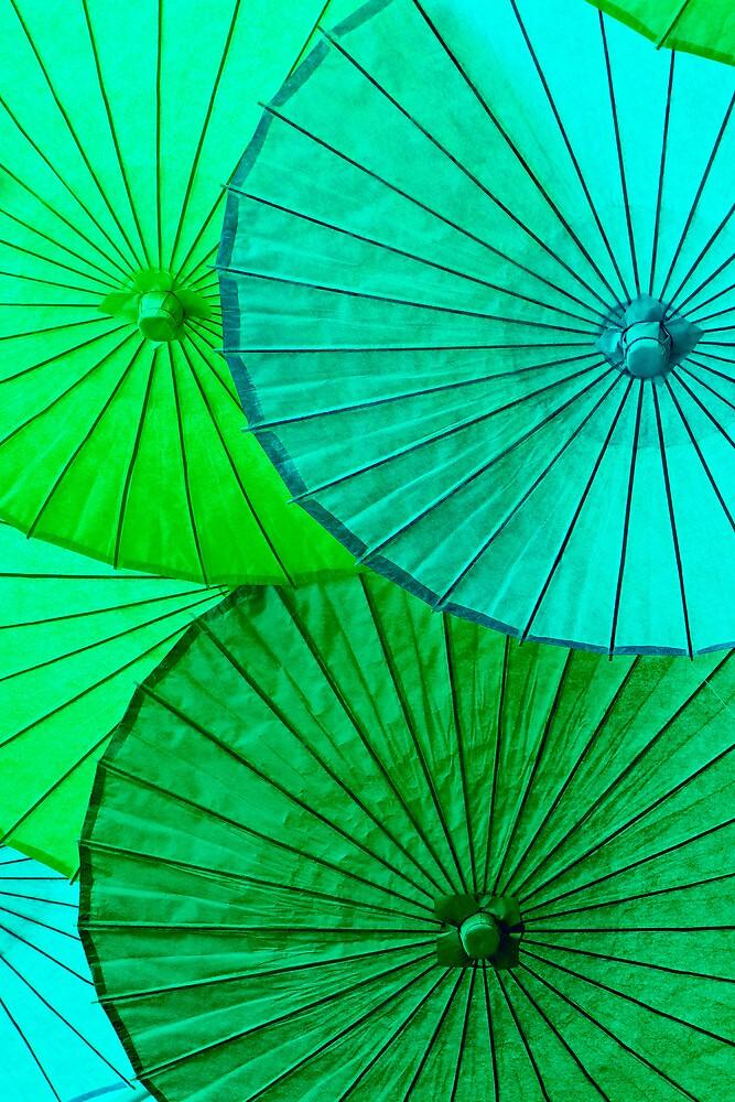 Spring Greens by TeresaB