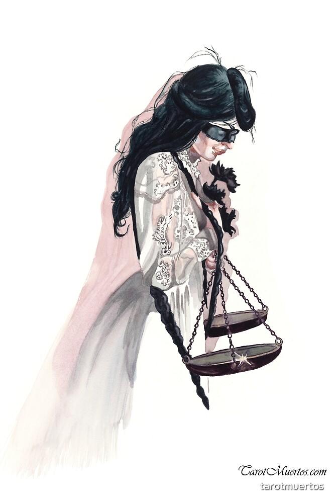 Justice - La Justicia by tarotmuertos