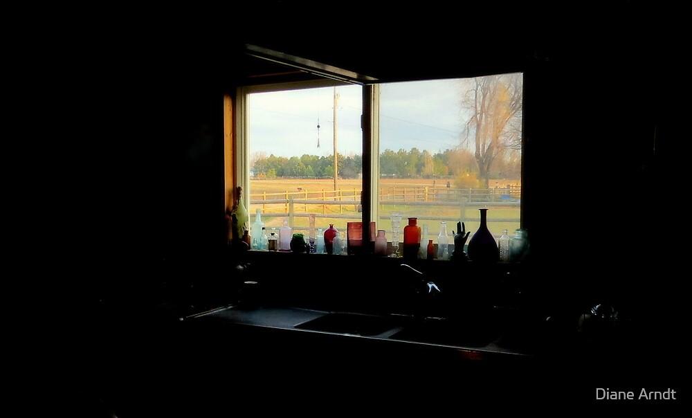 View From My Kitchen Window by Diane Arndt