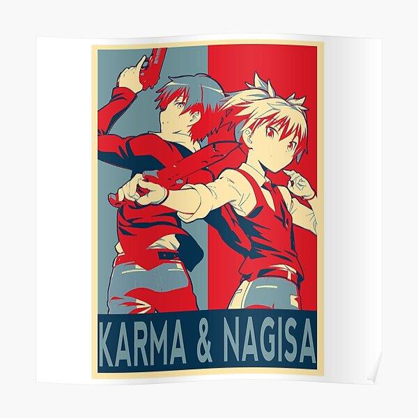 Assassination classroom, Karma Akabane X Nagisa fanart ! Poster