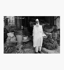 The Shop keeper - Kashmir, India Photographic Print