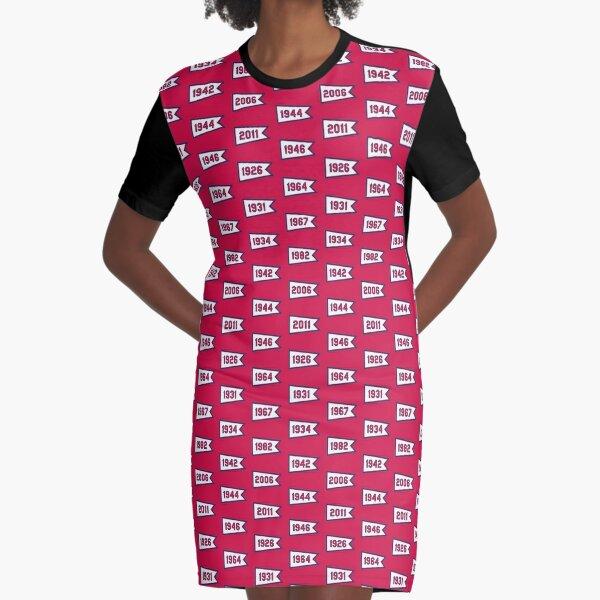 STL Pennants Graphic T-Shirt Dress