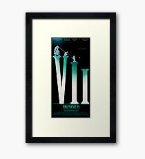 Final Fantasy VII: The Sacrifice Of Cloud POSTER Framed Print