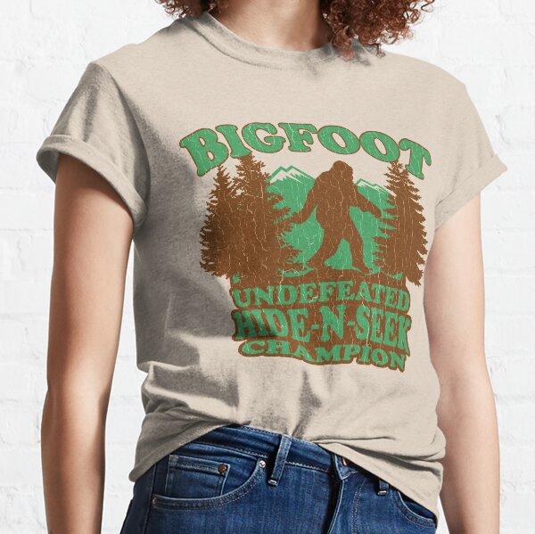 Bigfoot Hide N Seek Champion (Vintage verzweifelt) Classic T-Shirt