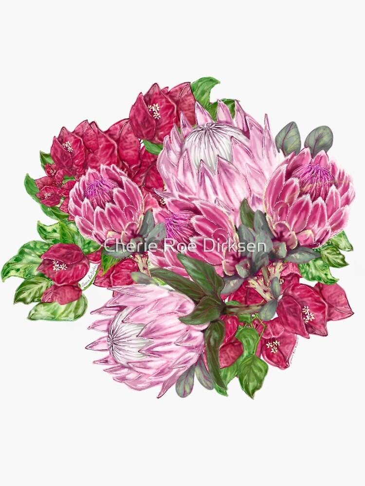 Protea Arrangement by cheriedirksen