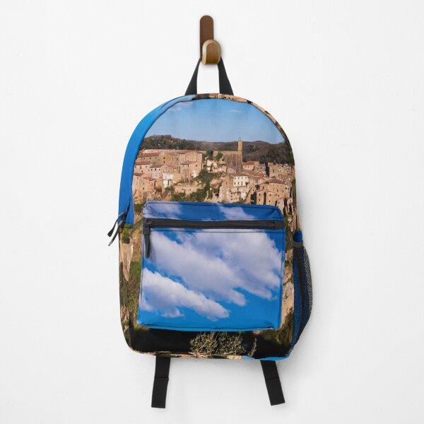 Sorano, Maremma, Tuscany, Italy Backpack