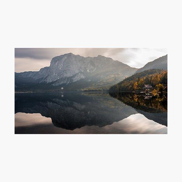 Der Herbst ist da - Altaussee Fotodruck