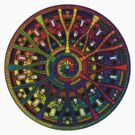Mandala 45 Rainbow T-Shirt Design by mandala-jim