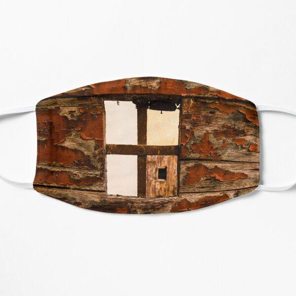 Flaking paint, doorway, Palazzo Capannelli, Cortona, Tuscany, Italy Mask