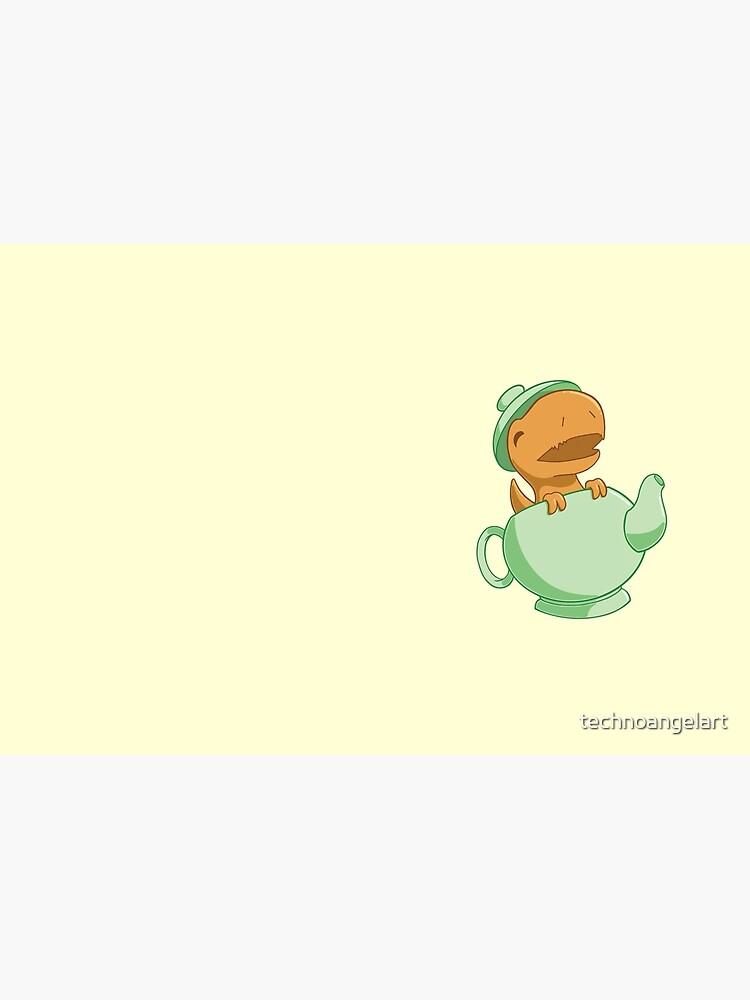 Tea-Rex by technoangelart