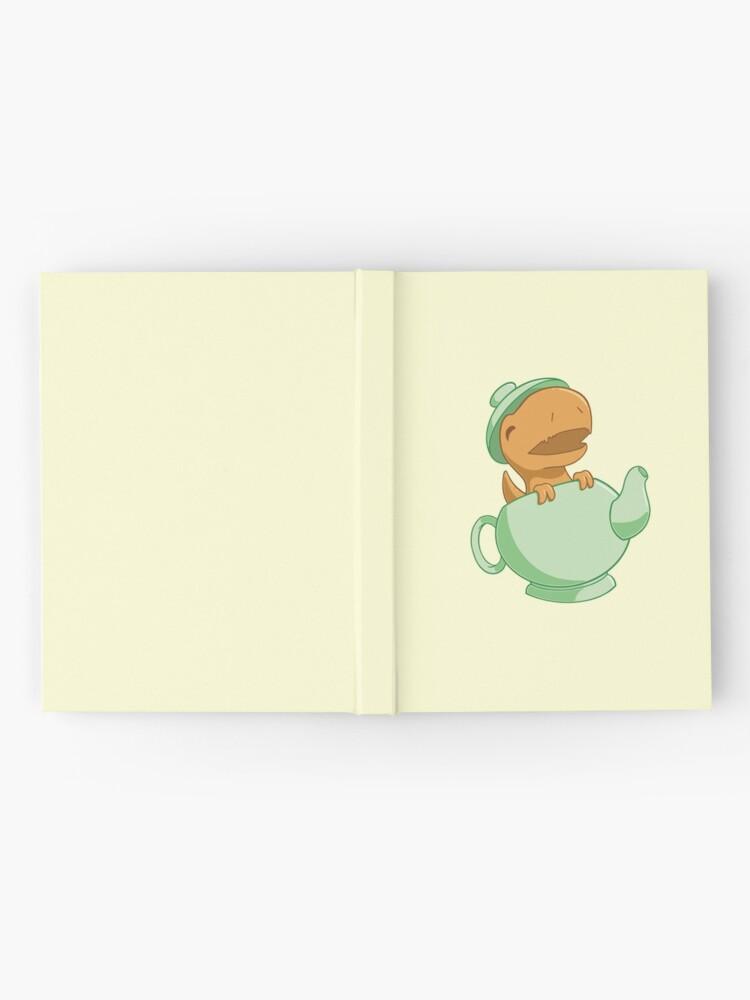 Alternate view of Tea-Rex Hardcover Journal