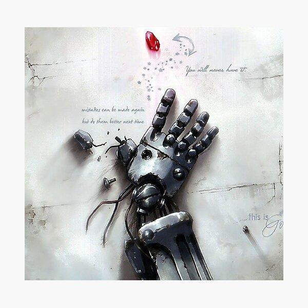 Fullmetal Alchemist - The Philosopher's Stone Photographic Print