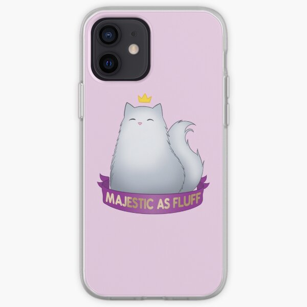 Majestic as Fluff iPhone Soft Case
