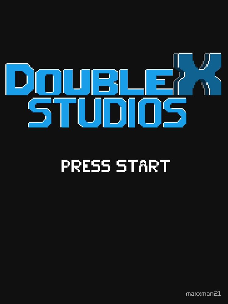 Double X Studios Logo by maxxman21