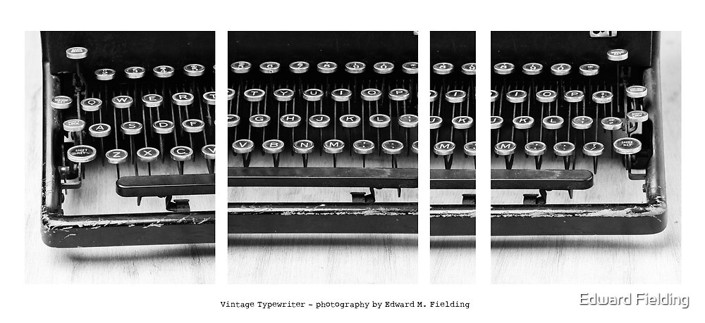 Vintage Typewriter by Edward Fielding