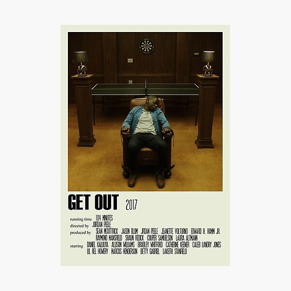 Get Out Alternative Poster Art Movie Large (2) Photographic Print