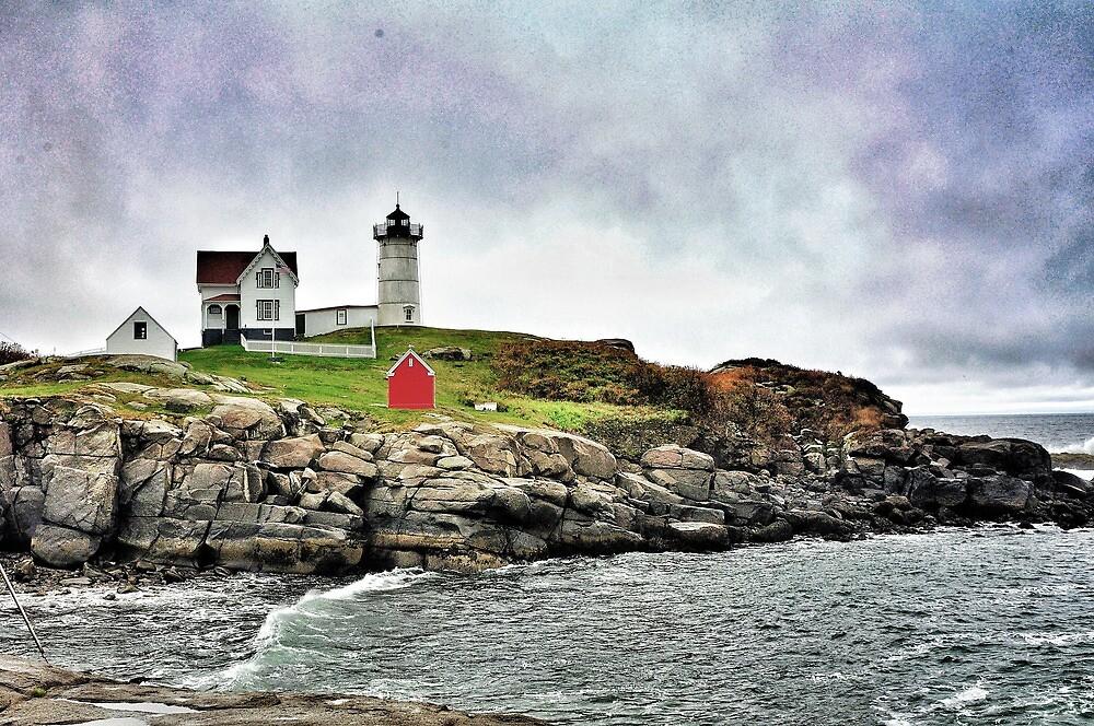 Cape Neddick Light, Maine by fauselr
