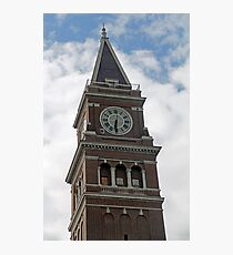 """""""Clock Tower"""" by Carter L. Shepard Photographic Print"""