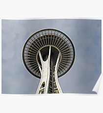 """Space Needle""  by Carter L. Shepard Poster"