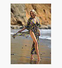 Sexy resort ware on location of CA coastline II Photographic Print