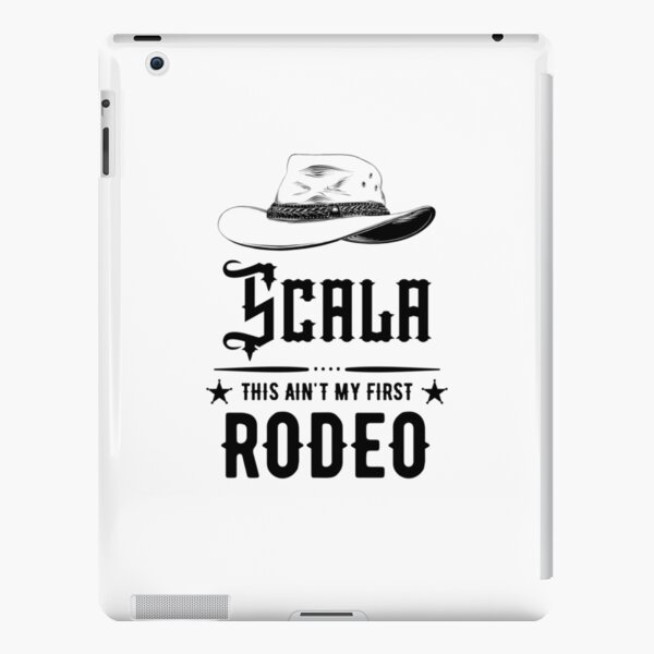Scala - This Ain't My First Rodeo iPad Snap Case